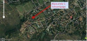 location of 1 in 9 protest campaign